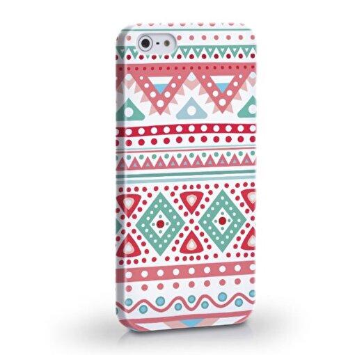 Biggdesign Etnik Pembe iPhone 4/4S Kapak - Model - İPHONE 5/5S. ürün görseli