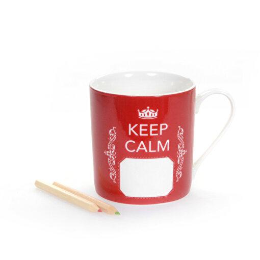 BiggDesign Keep Calm Kırmızı Kupa. ürün görseli
