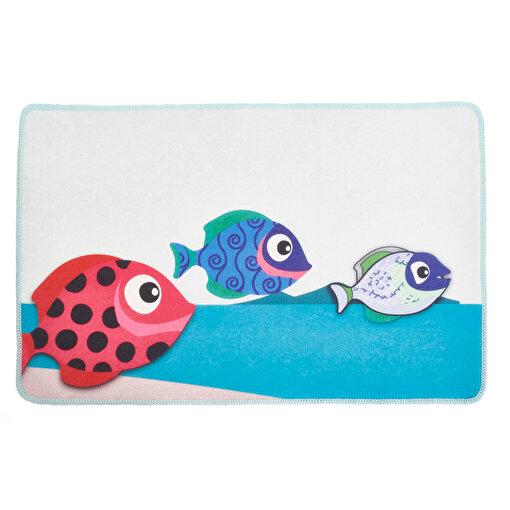 Biggdesign Balıklar Paspas         . ürün görseli