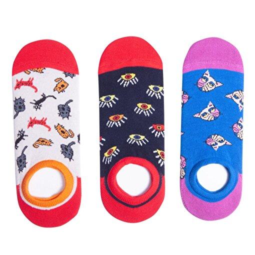 BiggDesign Kadın Patik Çorap Seti. ürün görseli