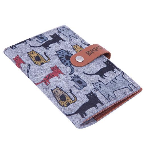 BiggDesign Cats Keçe Pasaport Kabı. ürün görseli