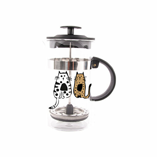 BiggDesign Cats in İstanbul French Press 350 Ml. ürün görseli