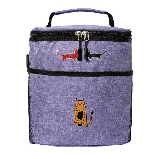 Biggdesign Cats Mor Isı yalıtımlı Çanta. ürün görseli