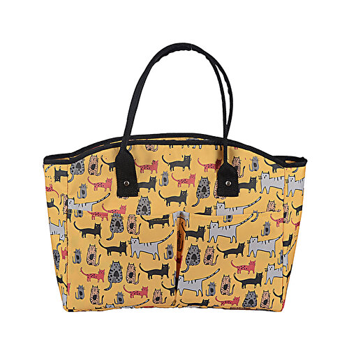 Biggdesign Cats Sarı Isı yalıtımlı Çanta. ürün görseli