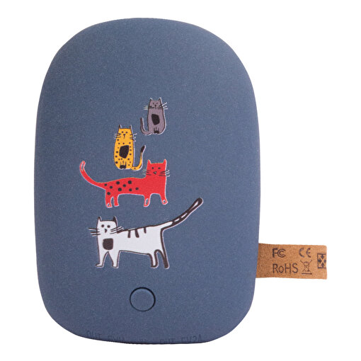 Biggdesign Cats Lacivert Taş Powerbank. ürün görseli