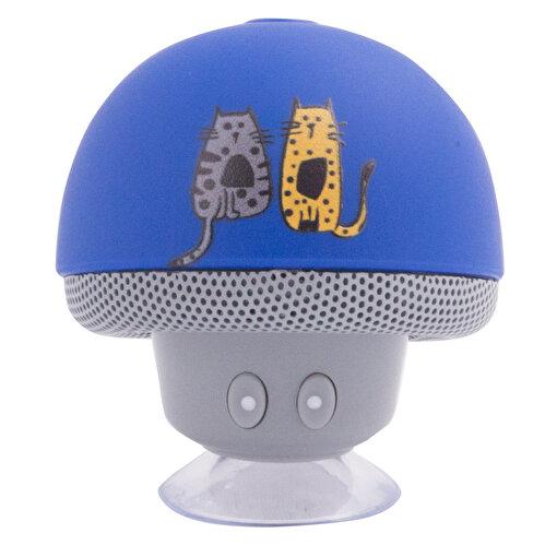 Biggdesign Cats Lacivert Bluetooth Hoparlör. ürün görseli