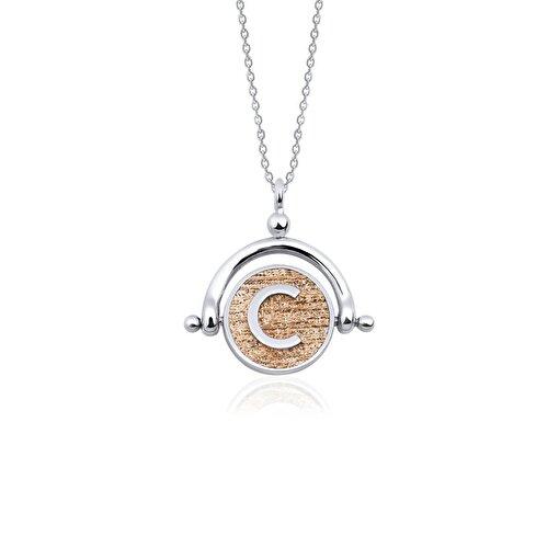 Biggdesign C Harfi Gümüş Kolye. ürün görseli