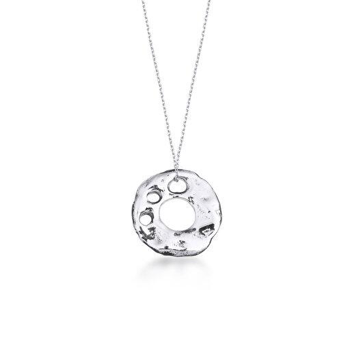 Biggdesign İz Gümüş Kolye. ürün görseli