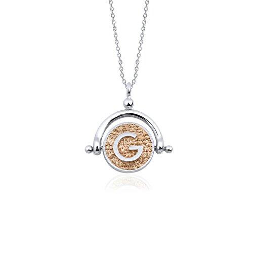 Biggdesign G Harfi Gümüş Kolye. ürün görseli