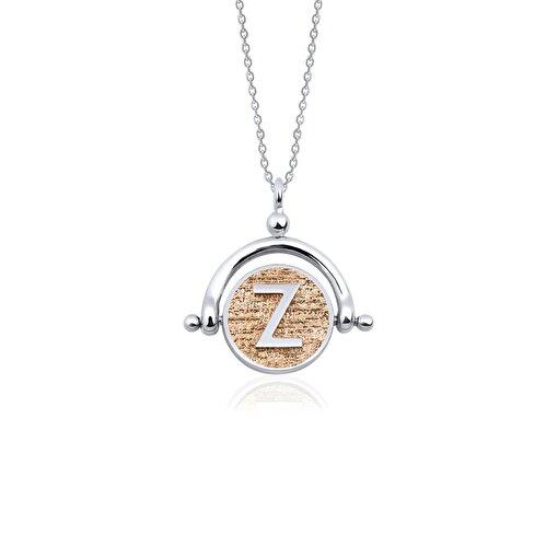Biggdesign Z Harfi Gümüş Kolye. ürün görseli