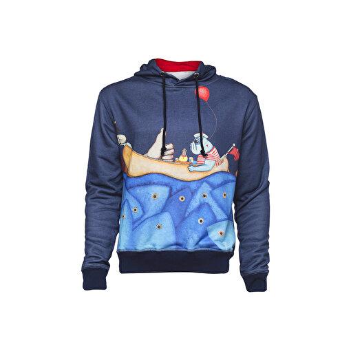 Biggdesign Mr. Allright Man Laci Erkek Sweatshirt. ürün görseli