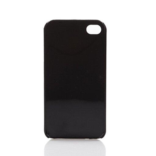 BiggDesign iPhone 4/4S Siyah Kapak Kedili Kız. ürün görseli