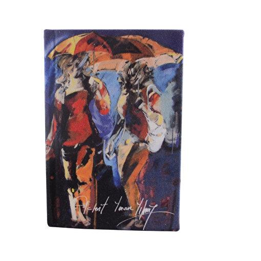 Biggdesign Şemsiyeli İnsanlar Defter 9X14. ürün görseli