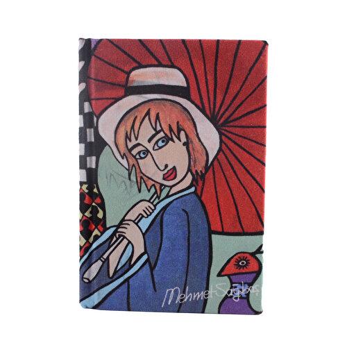 BiggDesign Şemsiyeli Kız Defter 9X14. ürün görseli