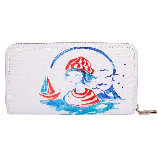 Anemoss Denizci Kız Cüzdan. ürün görseli