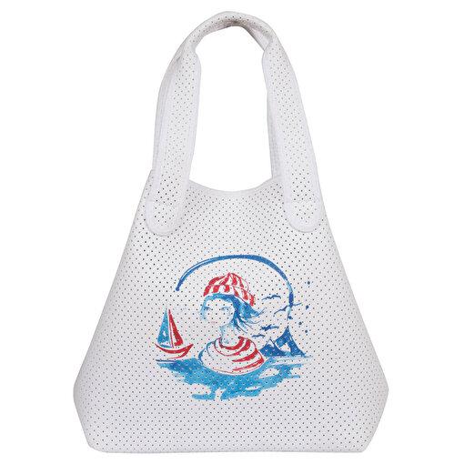 Anemoss Denizci Kız Eva Plaj Çantası. ürün görseli