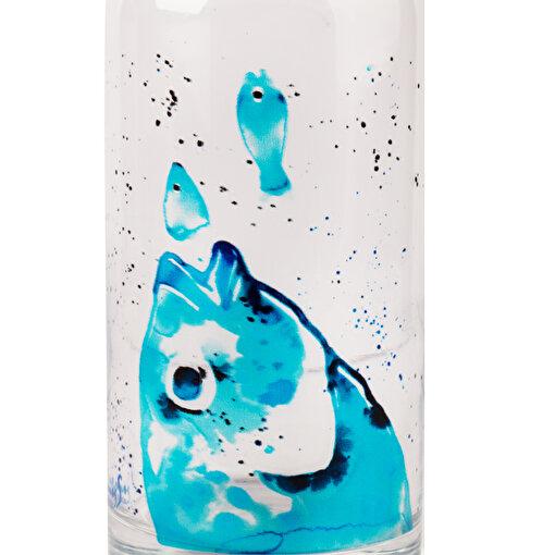AnemosS Çipura 500 ml Bardaklı Cam Sürahi. ürün görseli
