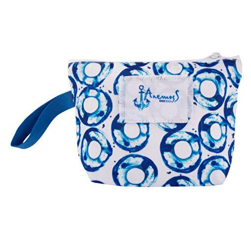 AnemosS Gel-Git Mavi Makyaj Çantası. ürün görseli