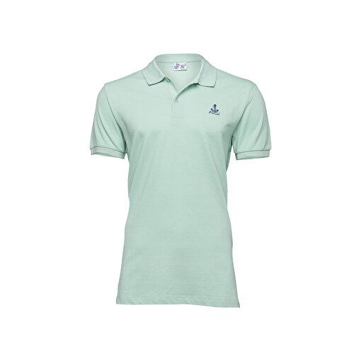 Anemoss Yelken Yeşil Erkek Polo Yaka T-Shirt. ürün görseli
