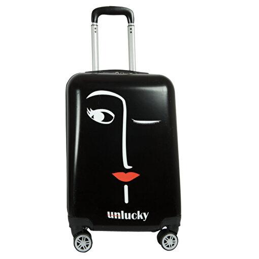 BiggDesign Faces Lucky Kabin Boy Valiz 20 inch. ürün görseli