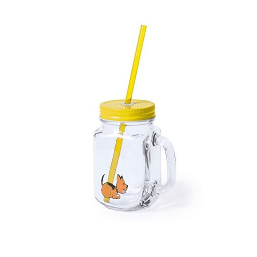 Biggdesign Dogs Kulplu Limonata Bardağı. ürün görseli