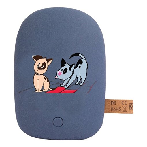 Biggdesign Dogs Lacivert Taş Powerbank. ürün görseli