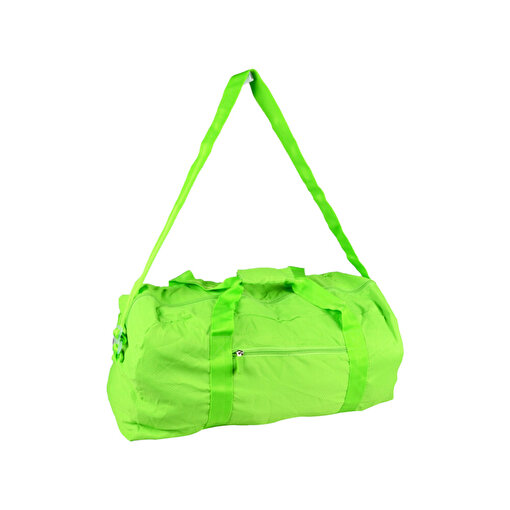 Biggfashion Yeşil Katlanabilir Duffel Çanta. ürün görseli