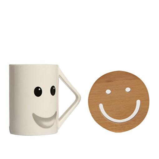 Boomug Smiley Gülen Surat Kupa Seti. ürün görseli