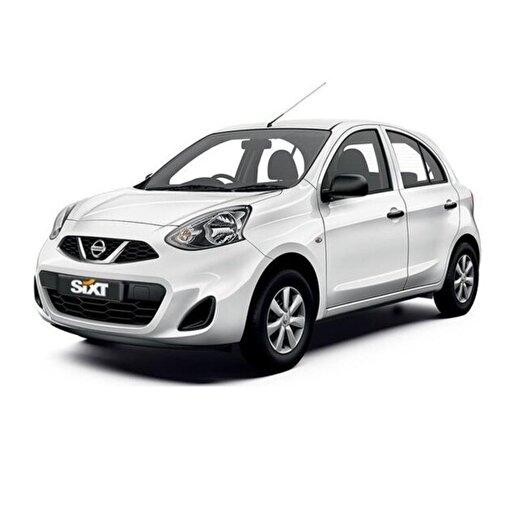 Sixt rent a car'dan Nissan Micra Araç Kiralama. ürün görseli