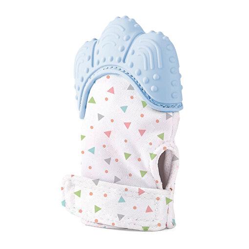 Babyjem Bebek Diş Kaşıma Eldiveni  Mavi. ürün görseli