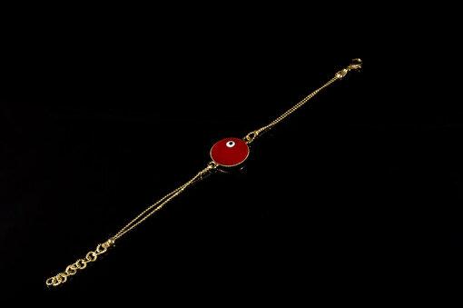 Biggbijoux Evıl Eye Bileklik-Kırmızı Renkli. ürün görseli