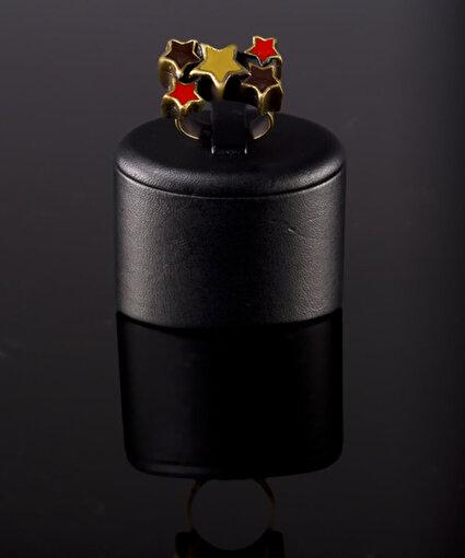 Biggbijoux Akhyls Yıldız Yüzük-Bakır Renkli. ürün görseli