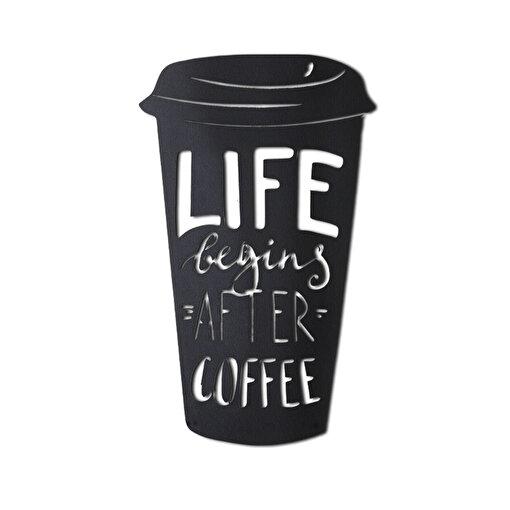 Bystag BYSM-111 Coffee Cup Metal Duvar Dekoru. ürün görseli