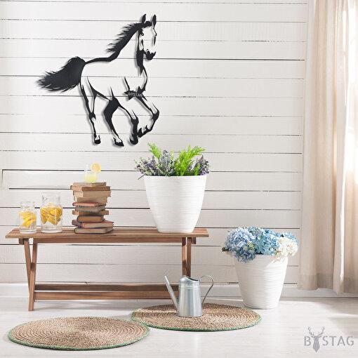 Bystag BYSM-133 Horse Metal Duvar Dekoru. ürün görseli