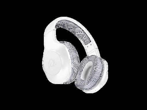 Cellularline Astros Bluetooth Beyaz Desenli Kulak Üstü Kulaklık. ürün görseli