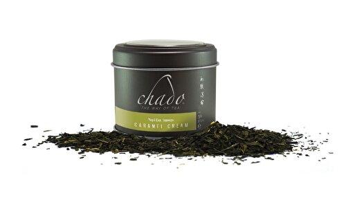 Chado Caramel Cream Yeşil Çay (50 g). ürün görseli