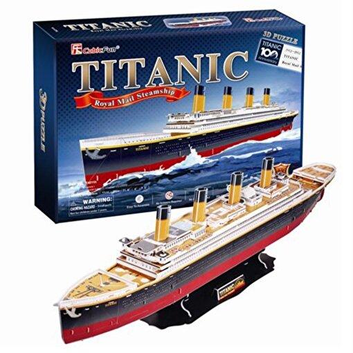 Cubic Fun 3D 113 Parça Puzzle Titanic Gemisi. ürün görseli