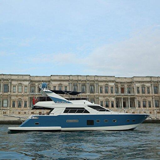 İstanbul Boğazı'nda 1,5 Saatlik Özel Tekne Turu. ürün görseli