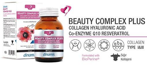 Dinamis Beauty Complex Plus Collagen Type 1&3 60 Kapsül. ürün görseli