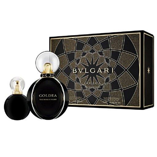 Bvlgari Goldea The Roman Night Edp 50 ml+15 ml Kadın Parfüm Set. ürün görseli