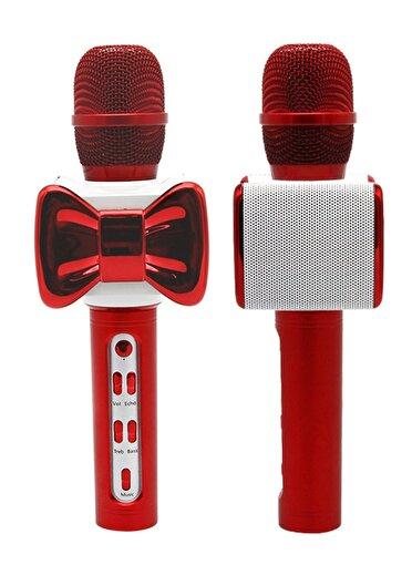 Doppler Mr.100 Bluetooth ve Hoparlörlü Karaoke Çocuk Mikrofonu - Kırmızı. ürün görseli