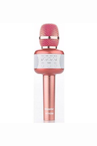 Doppler Karaoke Mikrofon KTV250 (Işık ve Sünger Hediyeli)Pembe. ürün görseli