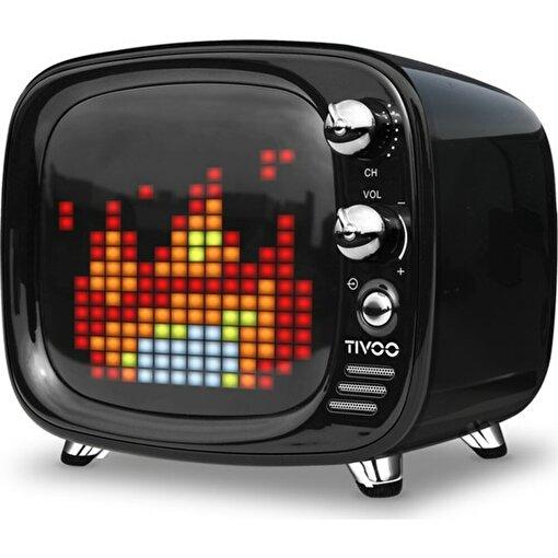 Divoom Tivoo Retro Bluetooth Hoparlör Siyah. ürün görseli