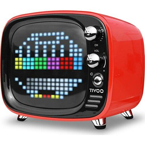 Divoom Tivoo Retro Bluetooth Hoparlör Kırmızı. ürün görseli