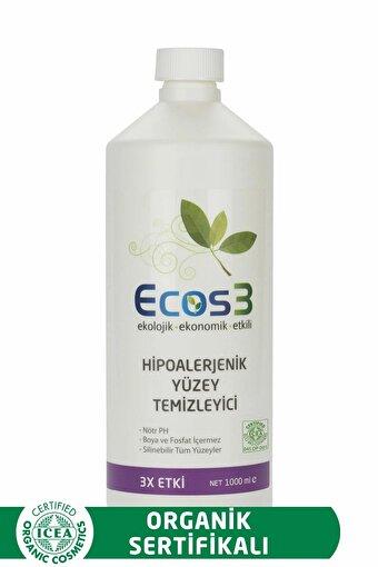 Ecos3 Organik Hipoalerjenik Yüzey Temizleyici (1000 Ml). ürün görseli