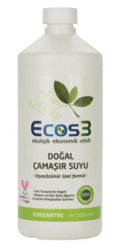Ecos3 Ekolojik Vegan Çamaşır Suyu (1000 Ml). ürün görseli