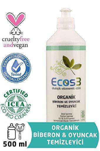 Ecos3 Organik Biberon Ve Oyuncak Temizleyici (500 Ml). ürün görseli