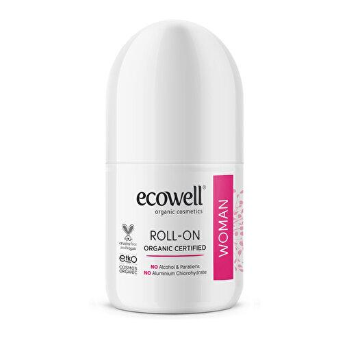 Ecowell Organik Roll-On Deodorant Kadın 75 ml. ürün görseli