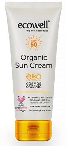 Ecowell Organik Güneş Kremi 50 spf 110 gr. ürün görseli