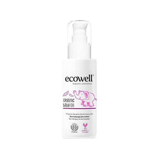 Ecowell Organik Bebek Yağı (100 Ml). ürün görseli